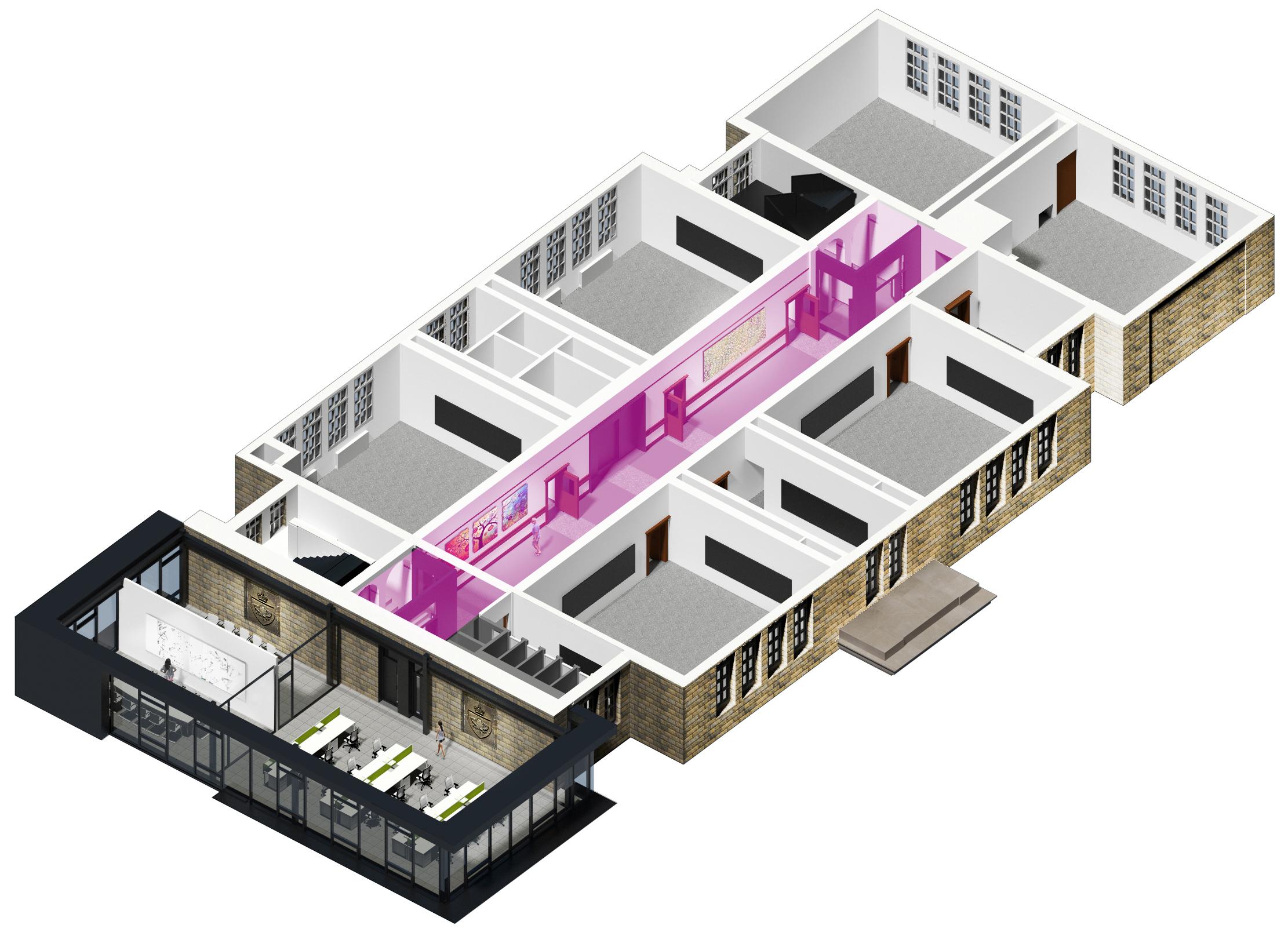 3rd floor-Hallway-Gallery