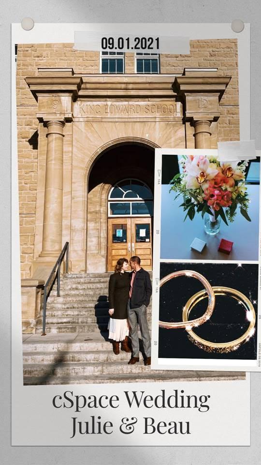 Weddings at cSPACE